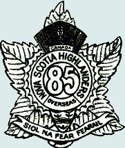 85th Battalion (Nova Scotia Highlanders), CEF