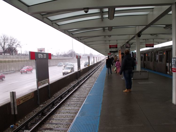 87th station