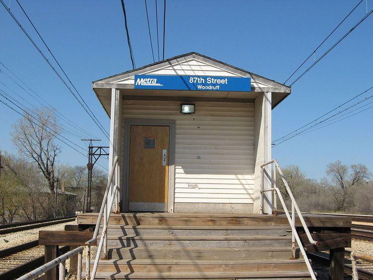 87th Street (Woodruff) station
