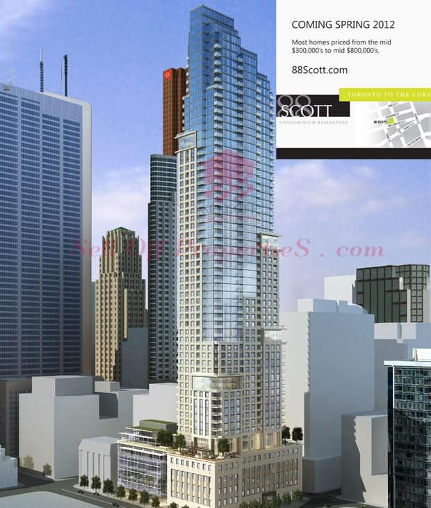 88 Scott 88 Scott Street Condos Toronto VIP Prices amp Floor Plans By Concert