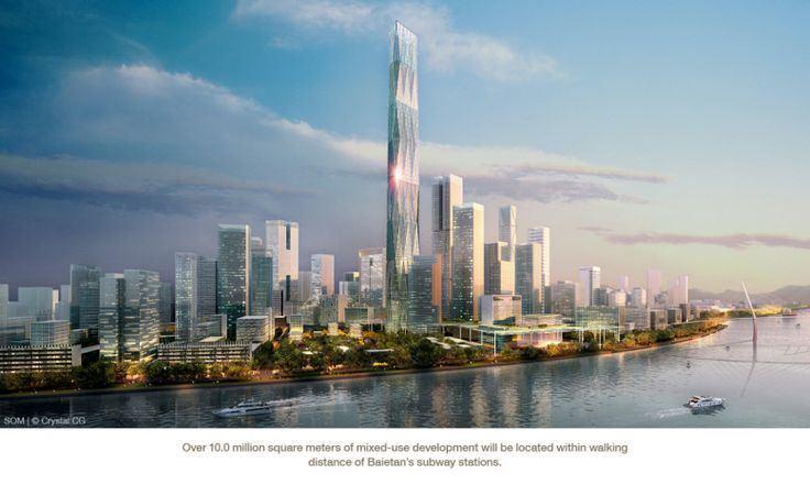 888 Tower GUANGZHOU Baietan 888 Tower SkyscraperCity Urban Design