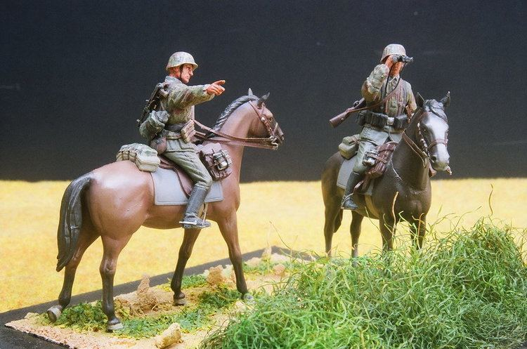 8th SS Cavalry Division Florian Geyer Model Maniac Page 40 Part B
