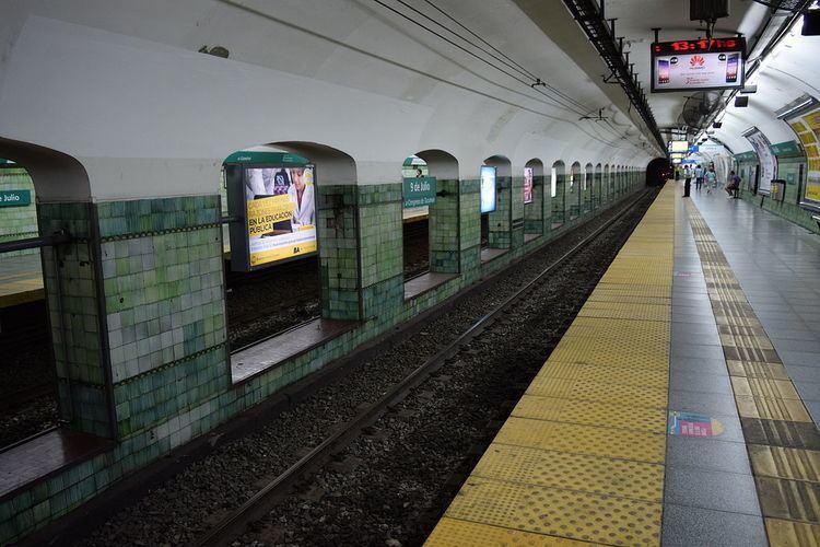 9 de Julio (Line D Buenos Aires Underground)