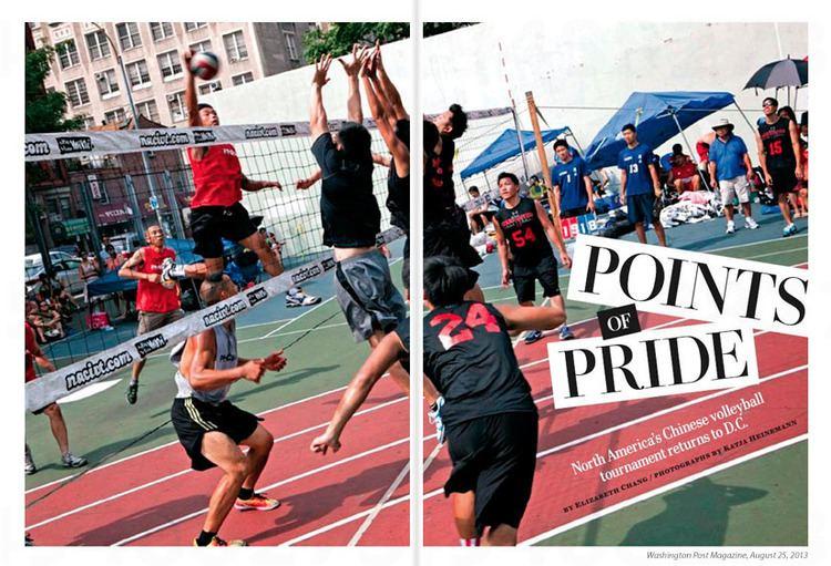 9-man 9 Man volleyball at Katja Heinemann