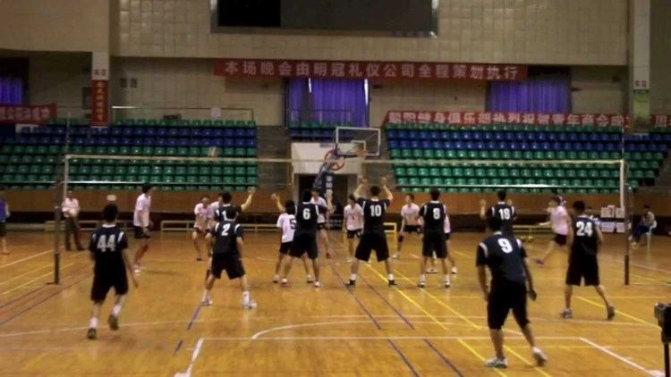 9-man 2011 China Volleyball Exhibition 9 Man Volleyball Highlights YouTube