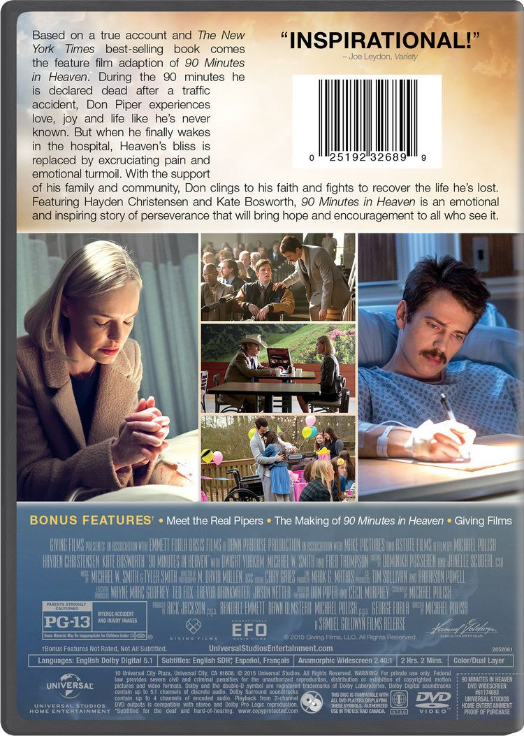 90 Minutes in Heaven (film) 90 Minutes in Heaven Movie Page DVD Bluray Digital HD On