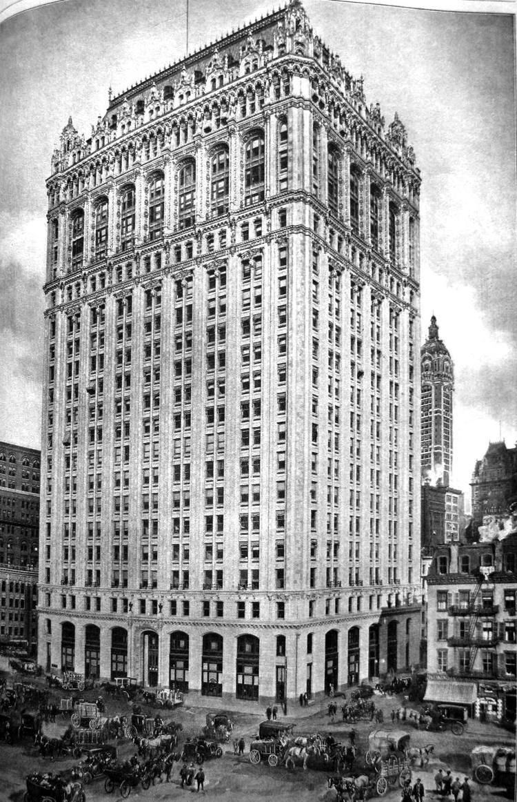 90 West Street Daytonian in Manhattan Cass Gilbert39s 1907 West Street Building