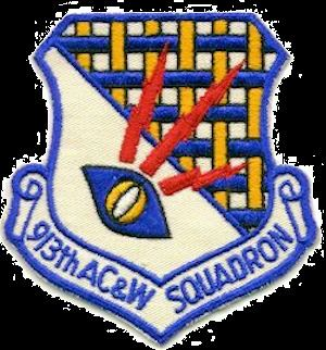 913th Aircraft Control and Warning Squadron