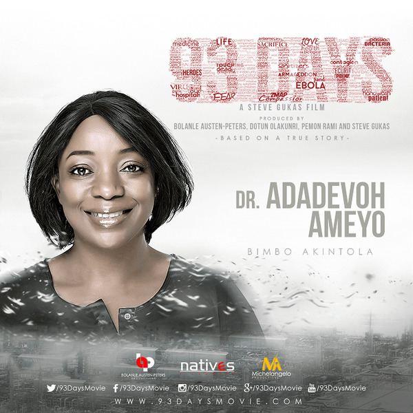 93 Days Producers of Ebola Movie 93 Days respond to Dr Adadevoh39s Family