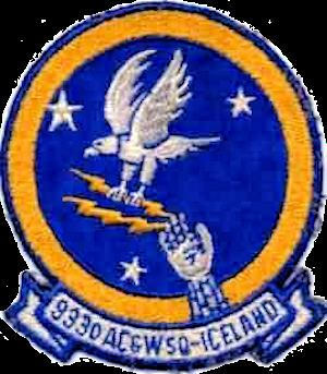 933d Aircraft Control and Warning Squadron