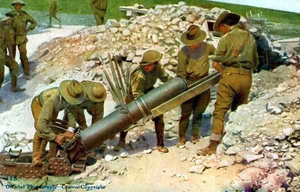 9.45-inch Heavy Mortar