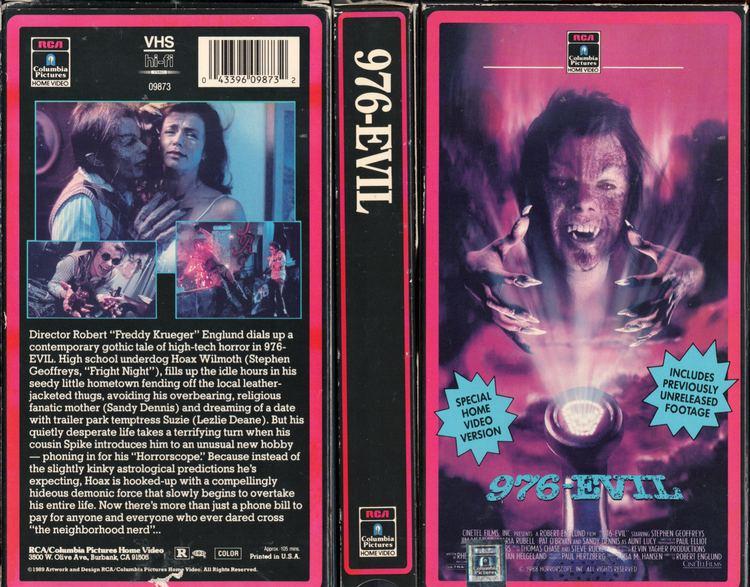 976-EVIL 976EVILjpg 18811471 VHS Covers Pinterest