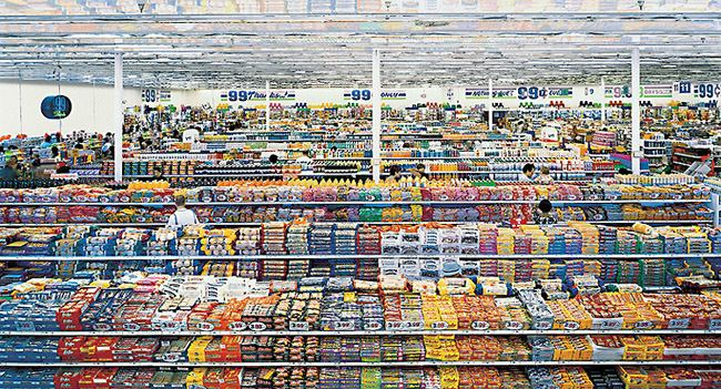 99 Cent II Diptychon MoMAorg Interactives Exhibitions 2001 Andreas Gursky 99 Cent