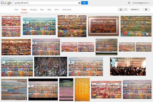 99 Cent II Diptychon 99 Cent A Look at the Widespread Confusion Over a Photo Gursky DIDN