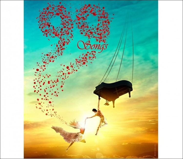 99 Songs Check Out AR Rahman39s First Movie 99 Songs First Poster FitnHitcom