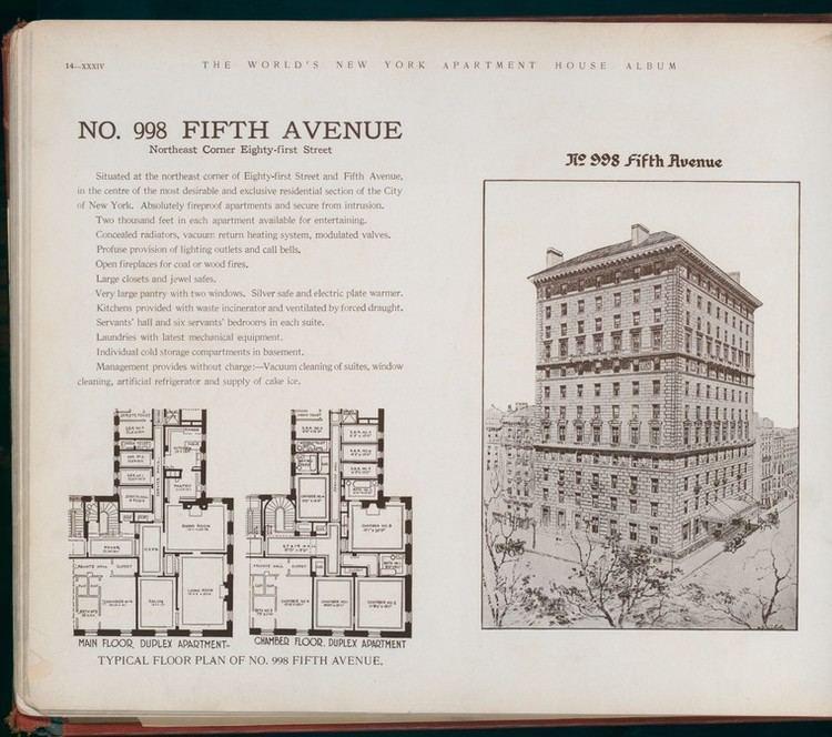 998 Fifth Avenue Inside the Apple Defining Luxury a Century Ago 998 Fifth Avenue