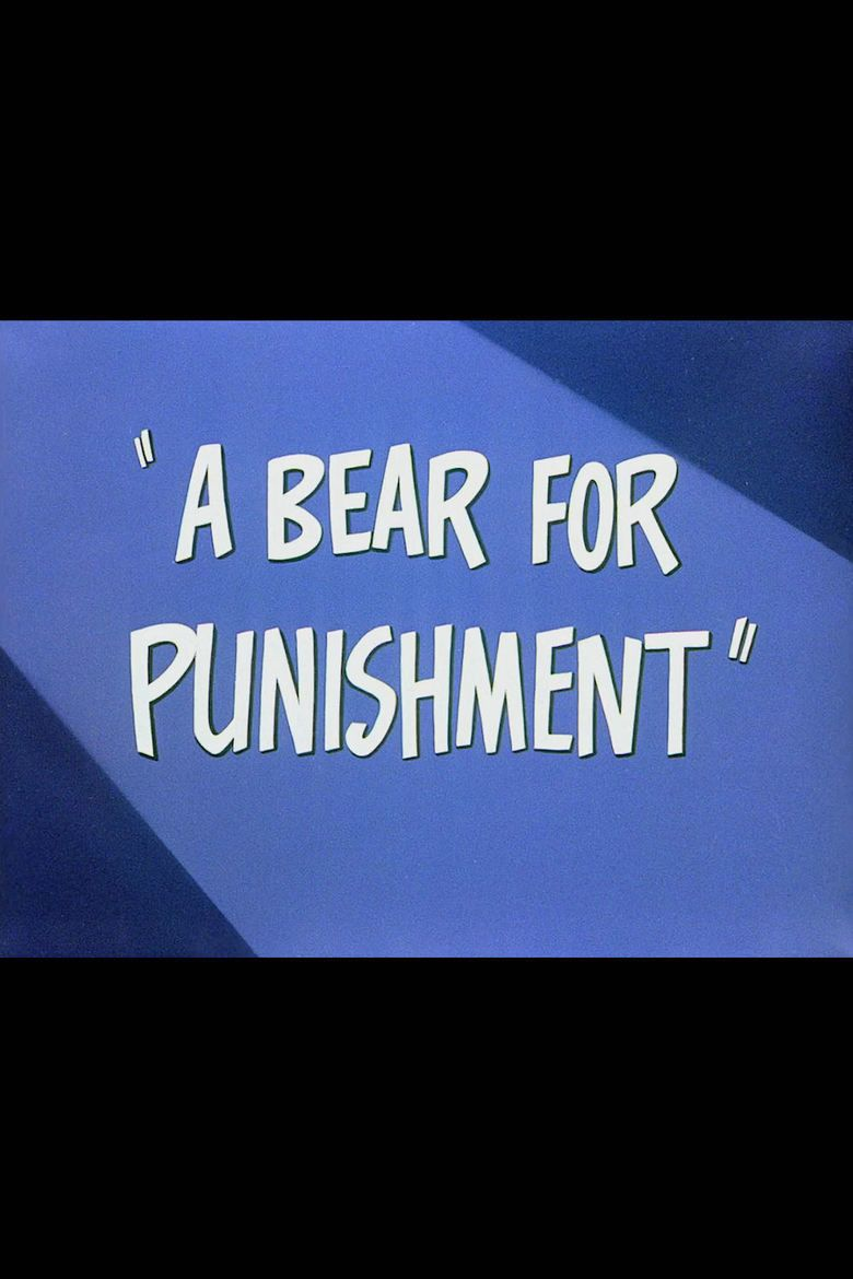A Bear for Punishment movie poster