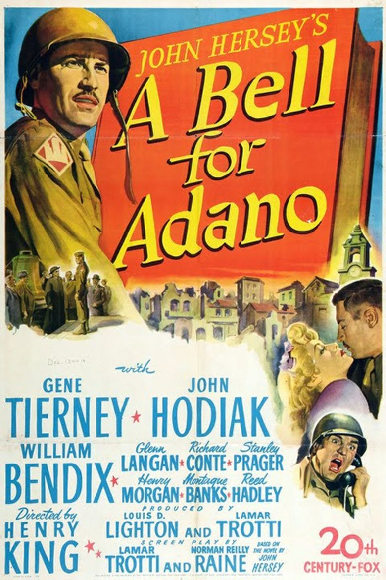 A Bell for Adano movie poster