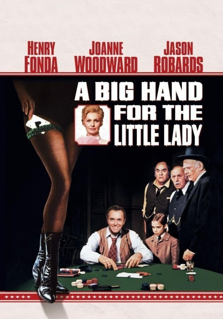 A Big Hand for the Little Lady movie poster