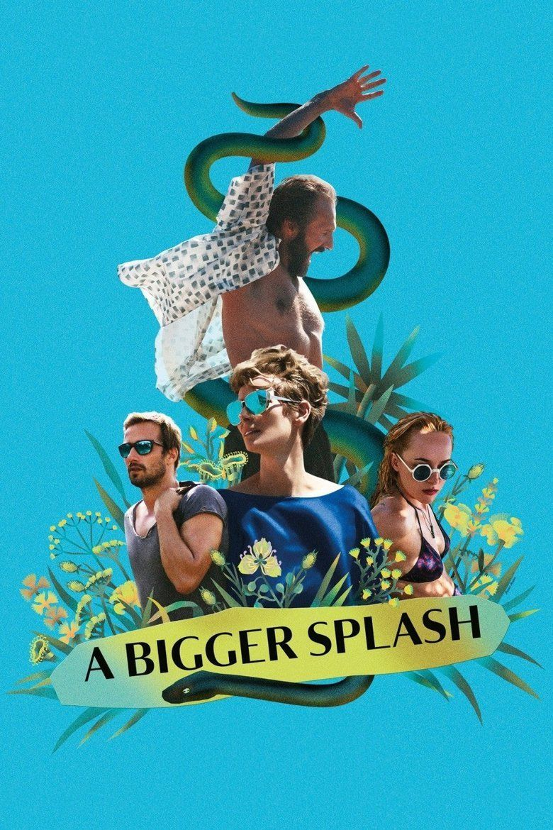 A Bigger Splash (film) movie poster