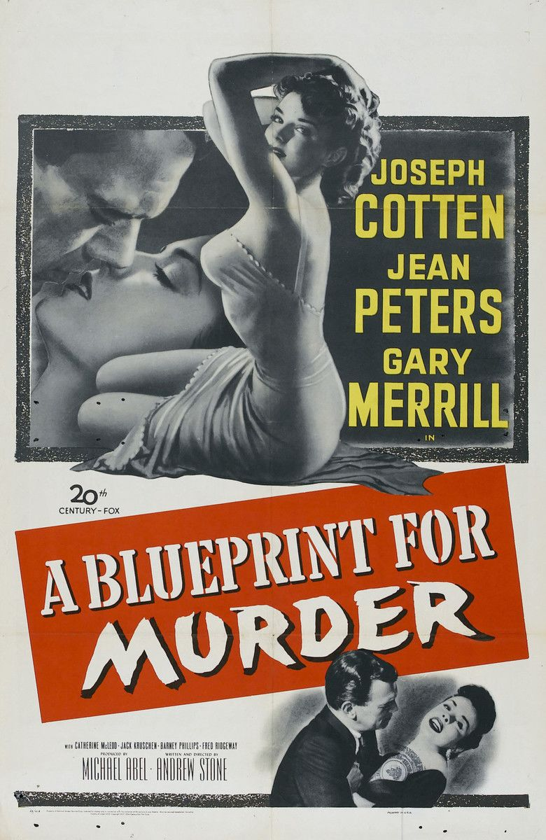 A Blueprint for Murder movie poster