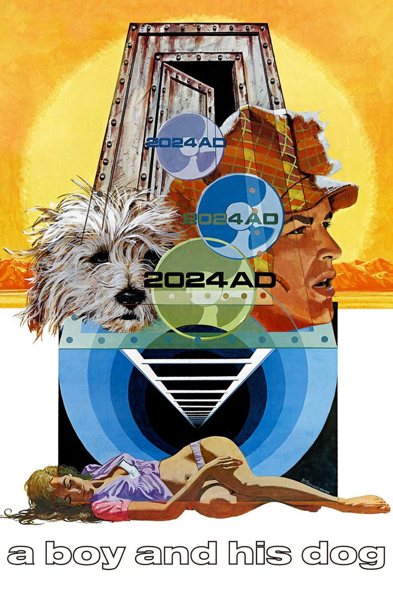 A Boy and His Dog (1975 film) movie poster
