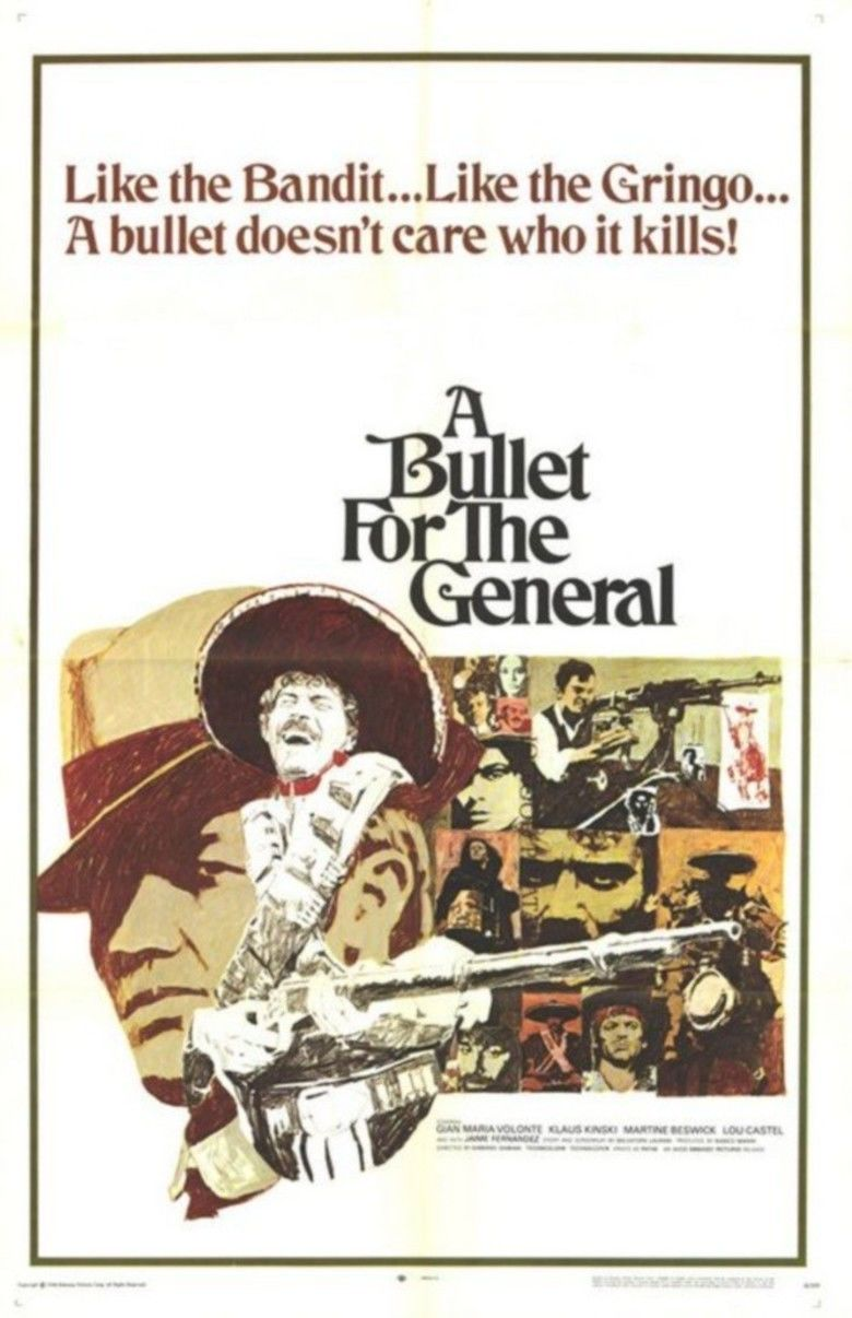 A Bullet for the General movie poster