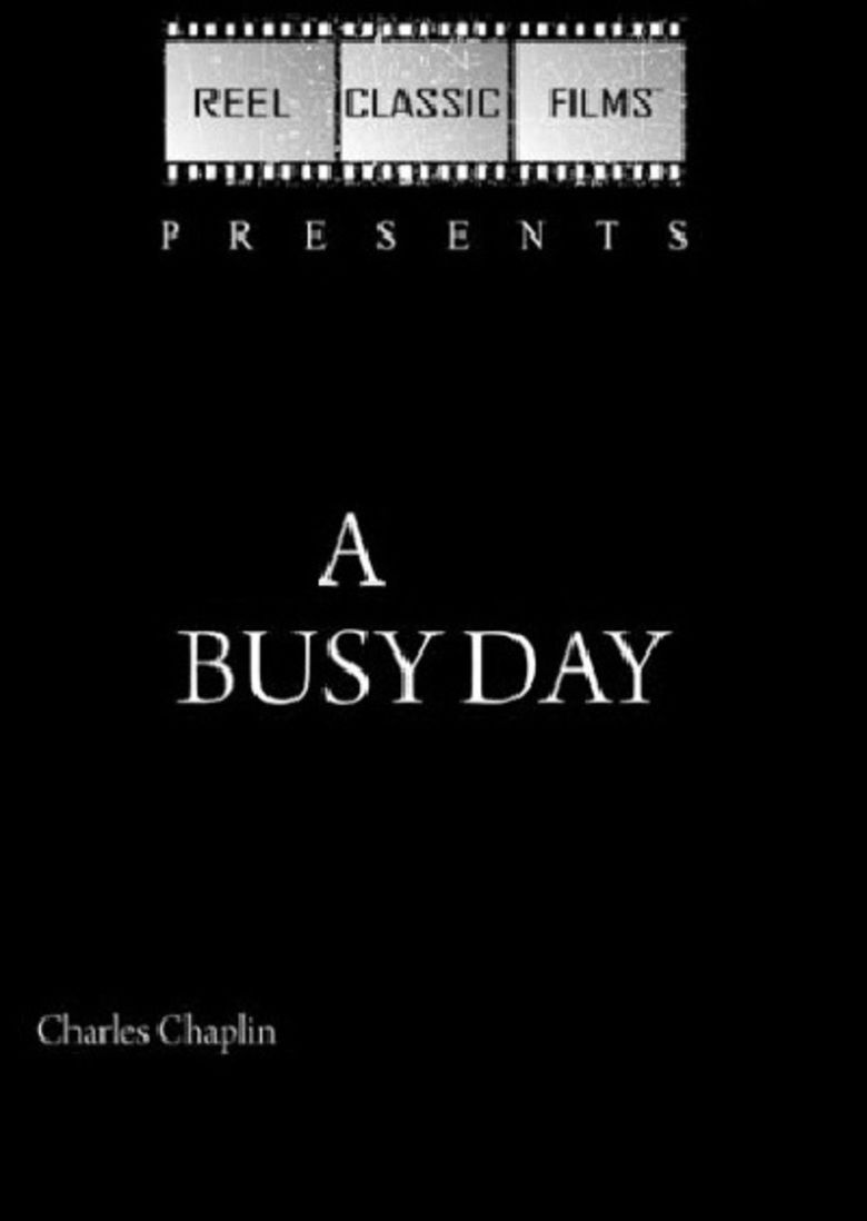 A Busy Day movie poster