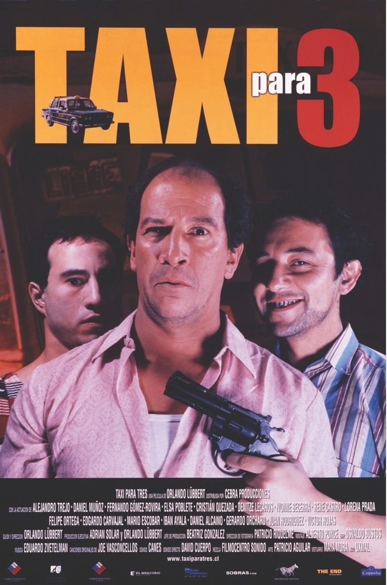 A Cab for Three movie poster
