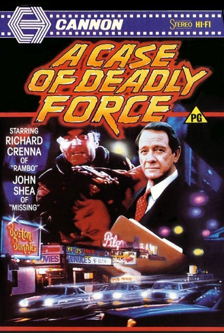 A Case of Deadly Force movie poster