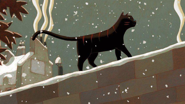 A Cat in Paris movie scenes