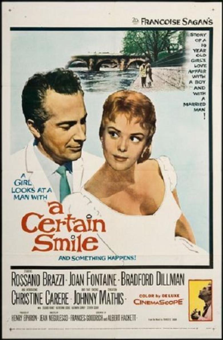 A Certain Smile (film) movie poster