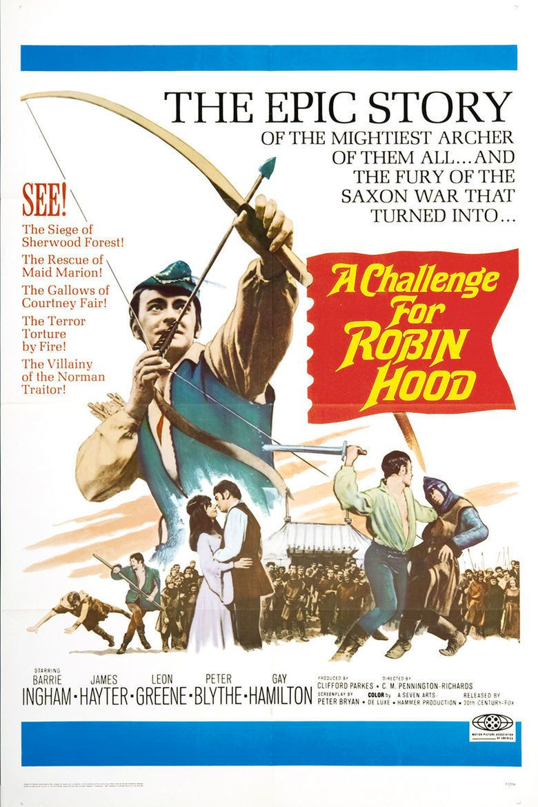 A Challenge for Robin Hood movie poster