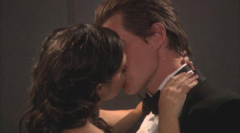 A Christmas Kiss movie scenes