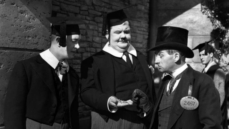 A Chump at Oxford movie scenes