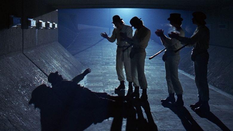 A Clockwork Orange (film) movie scenes