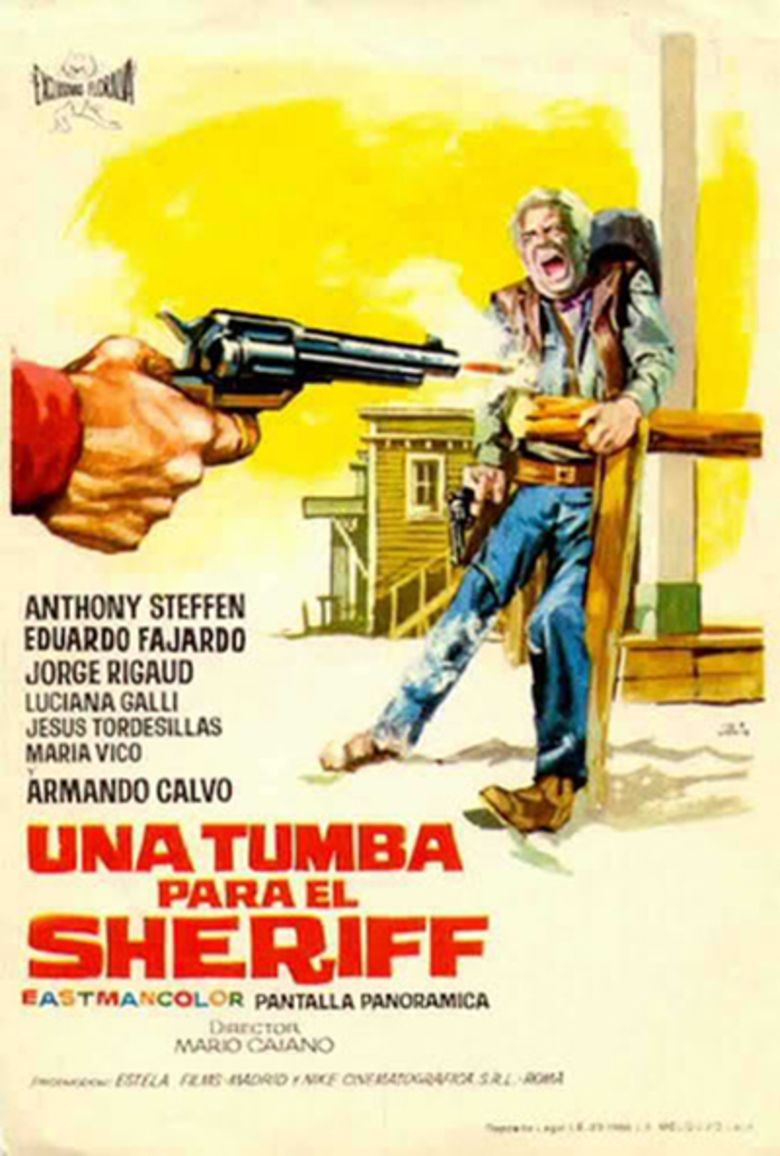 A Coffin for the Sheriff movie poster