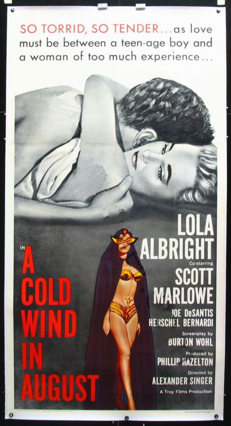 A Cold Wind in August movie poster