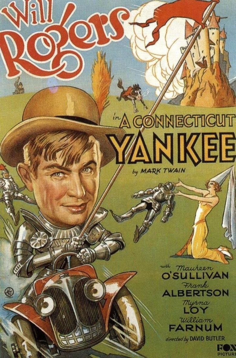 A Connecticut Yankee (film) movie poster