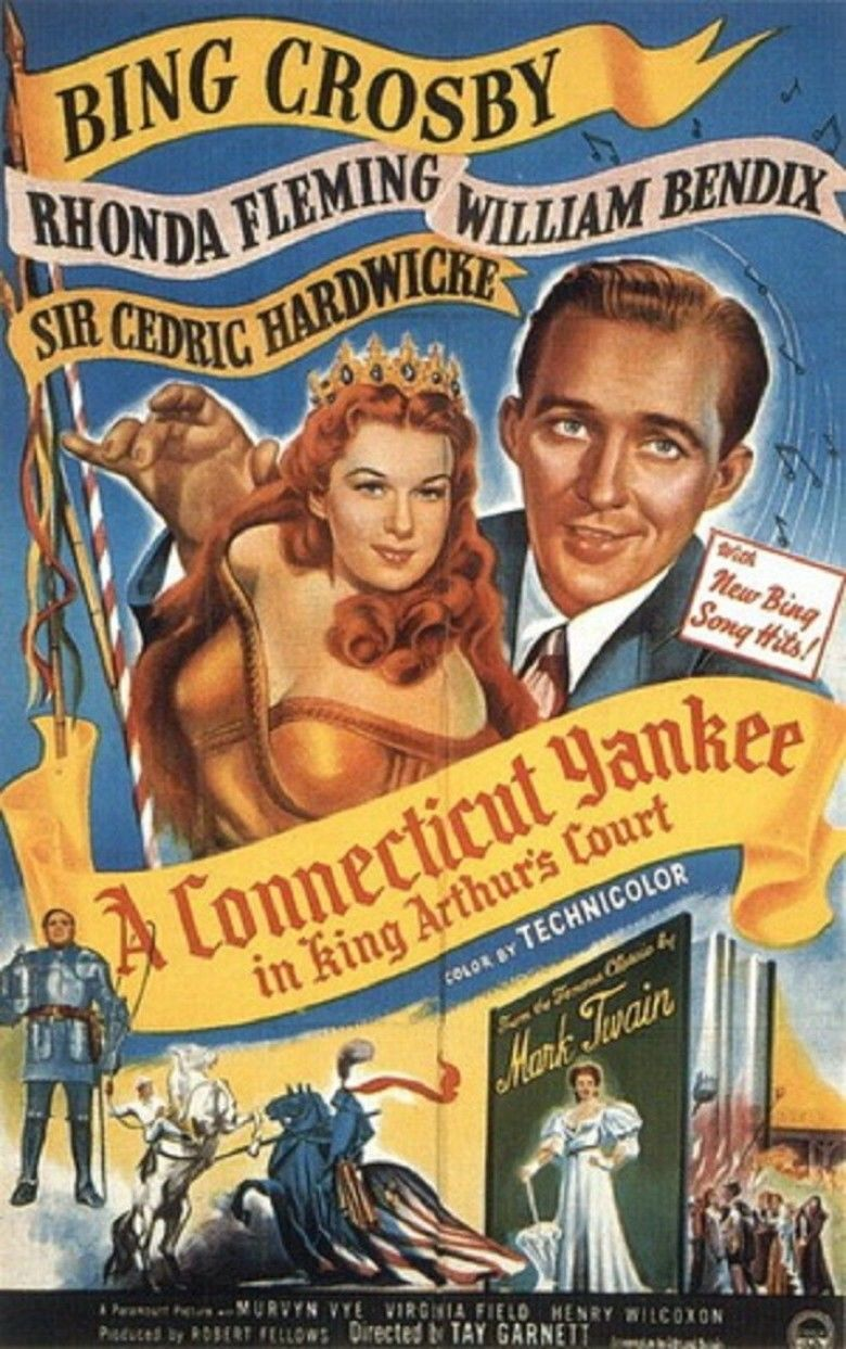 A Connecticut Yankee in King Arthurs Court (1949 film) movie poster