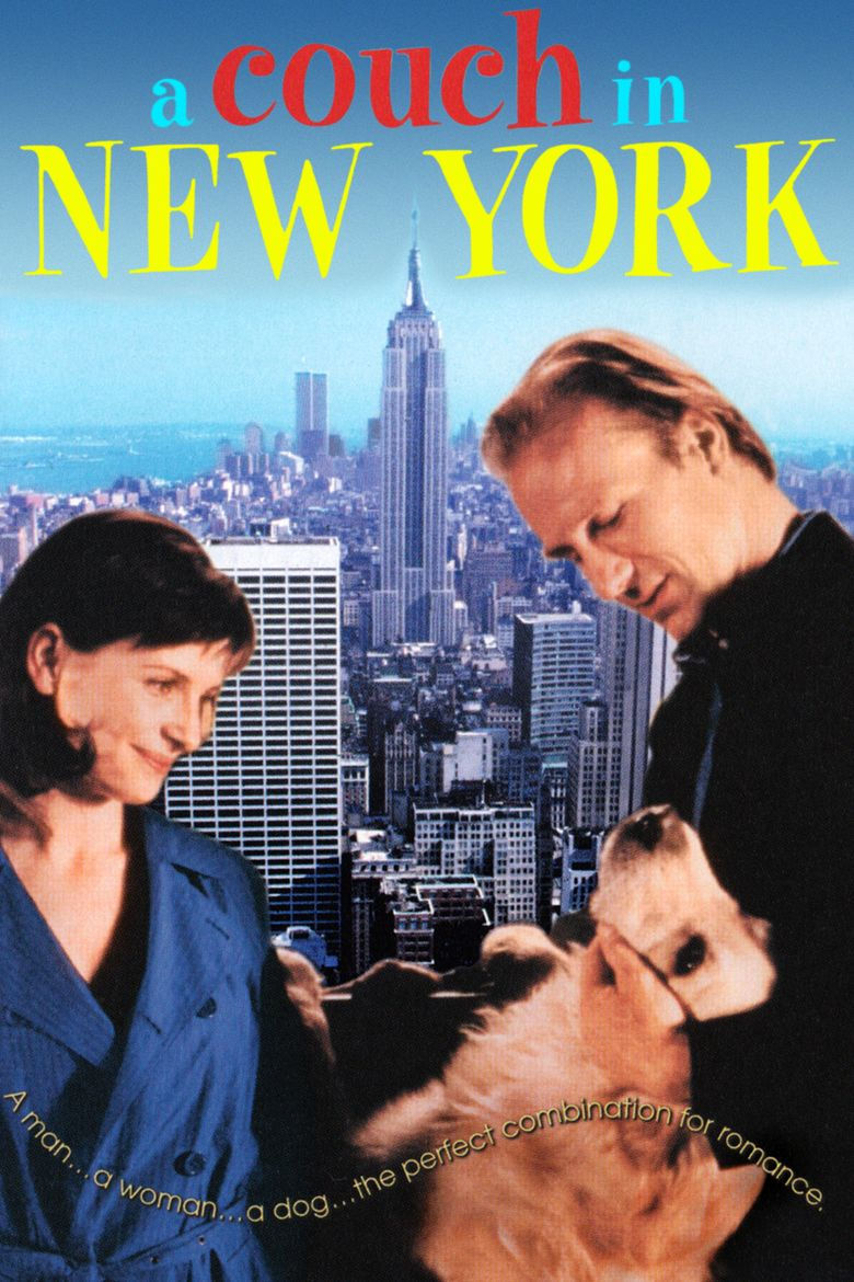A Couch in New York movie poster