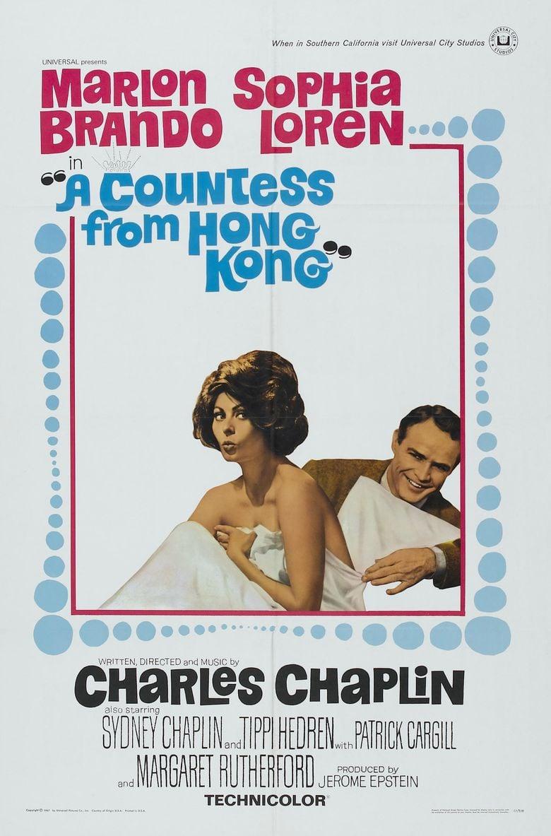 A Countess from Hong Kong movie poster