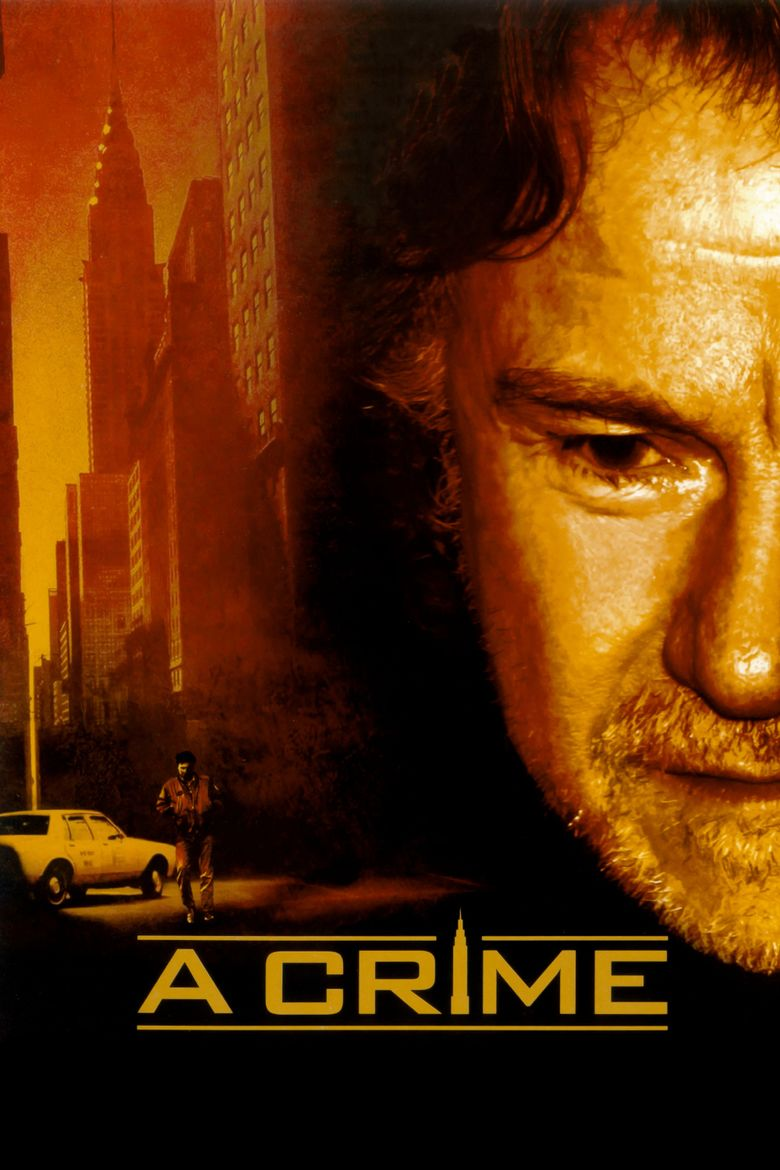 A Crime movie poster