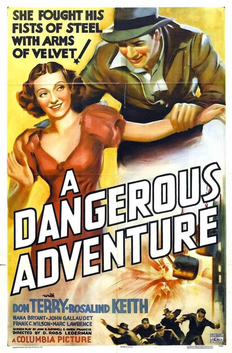 A Dangerous Adventure movie poster