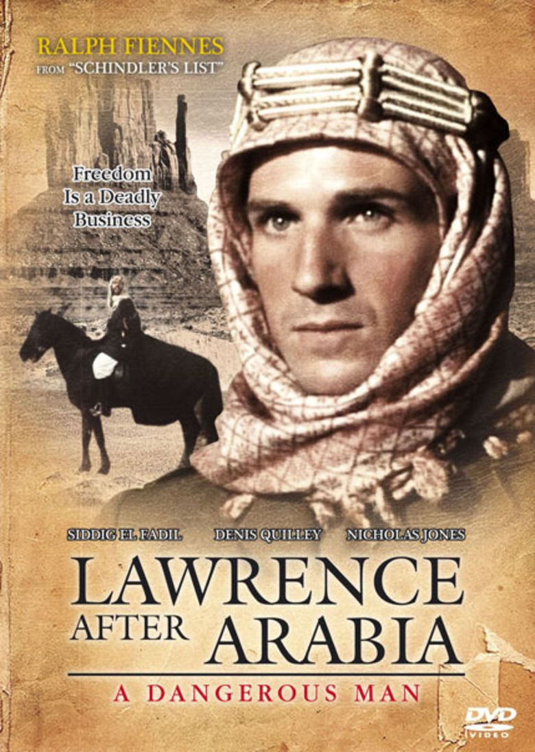 A Dangerous Man: Lawrence After Arabia movie poster