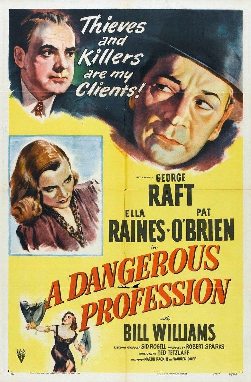 A Dangerous Profession movie poster