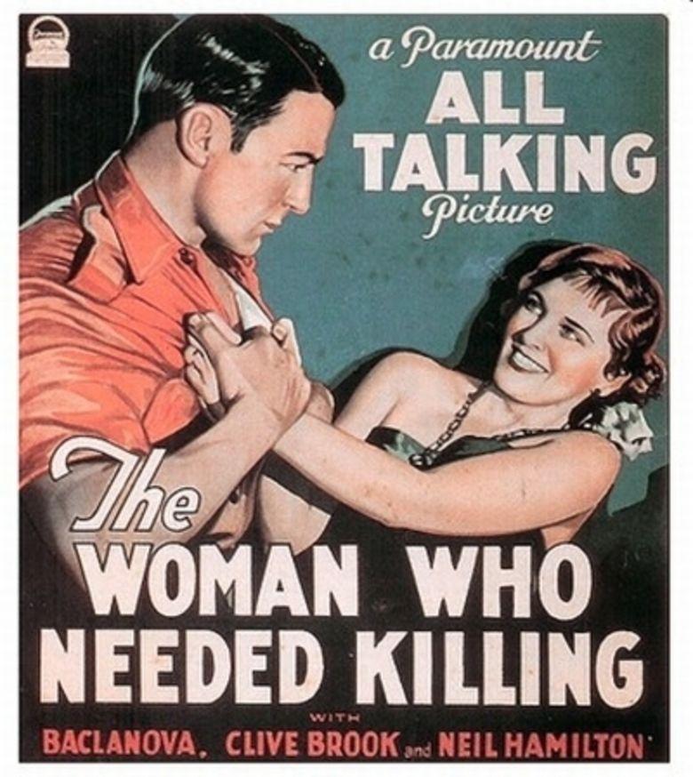 A Dangerous Woman (1929 film) movie poster