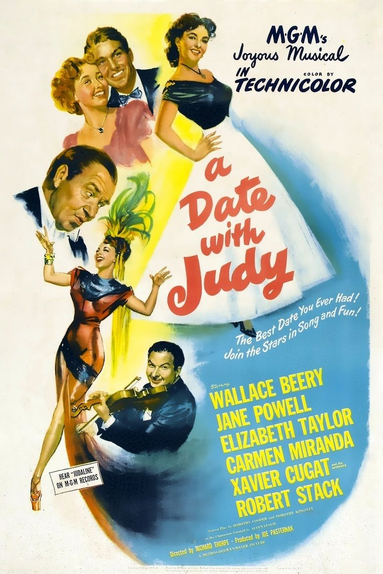 A Date with Judy (film) movie poster