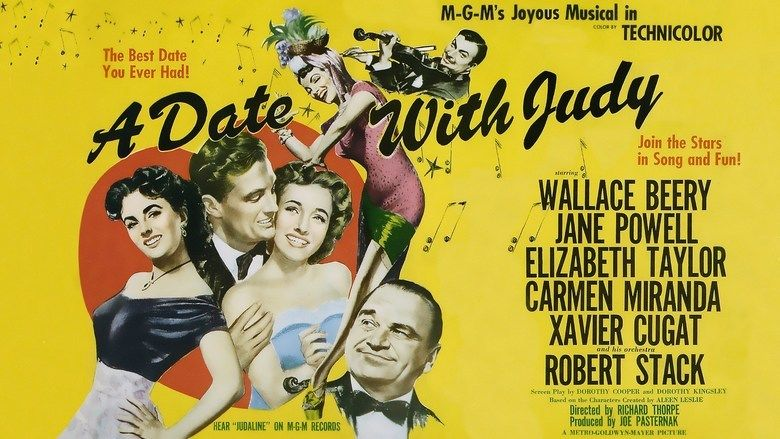 A Date with Judy (film) movie scenes