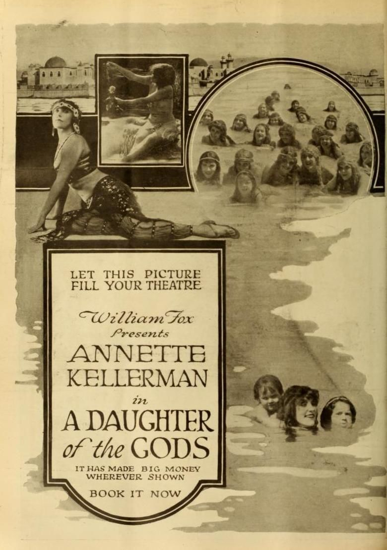 A Daughter of the Gods movie poster